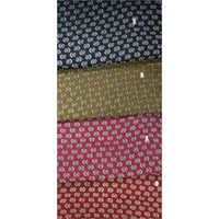 Kalamkari Dotted Fabric Saree