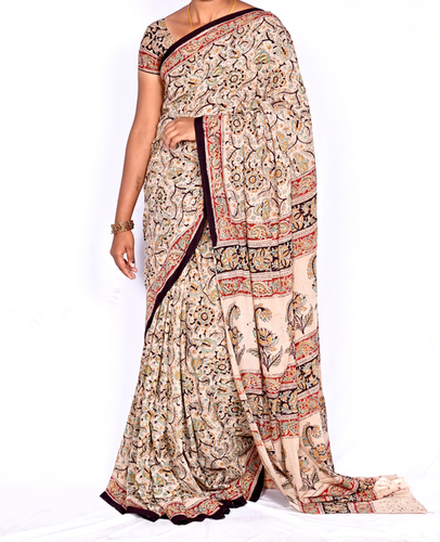 Kalamkari Fabric Saree