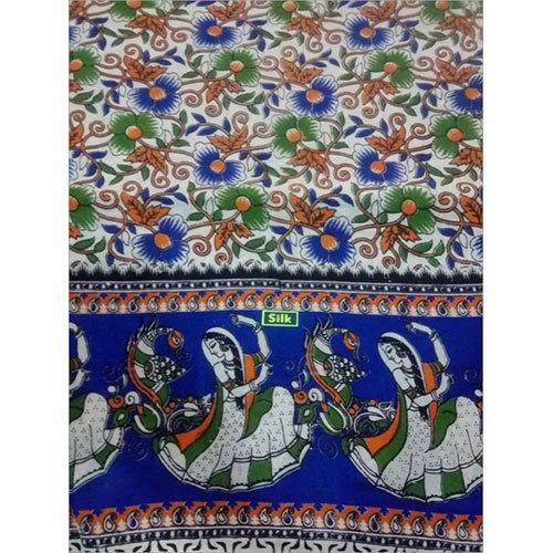 Printed Kalamkari Saree