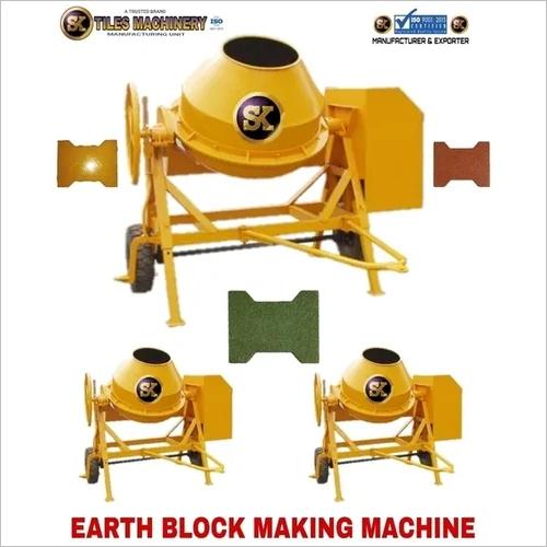 Earth Block Making Machine