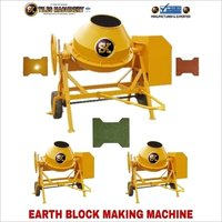 Earth Block Making Machine