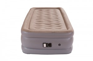 Thicken Inflatable No Leakage Airbed Portable Air Mattress with Built-in Electric Pump,Durable,Easy to Store and Install,190x99x46cm,Air Mattress Twin Size