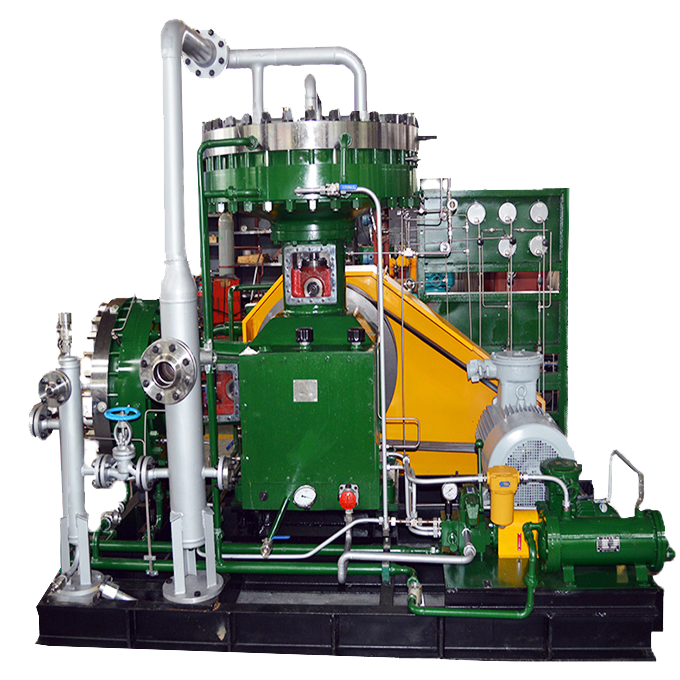 40 Mpa 99.99%-99.9999% Oil Free Purity Hydrogen Gas Compressor