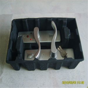 Dry pressed black and dyed paper holders 13