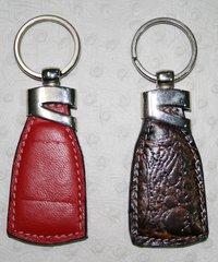 Designer Leather Key Ring