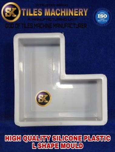 Silicone Plastic L Shape Mould
