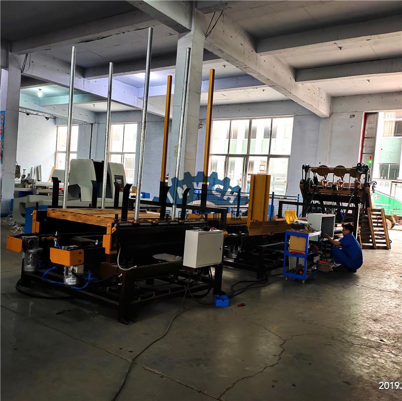 Automatic Wood Pallet Production Line