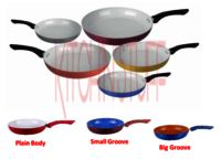Ceramic Coated Taper Fry Pan