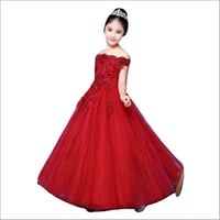 Girls Net Party Gown