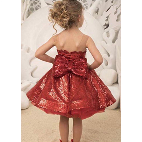 Girls Net Detachable Dress