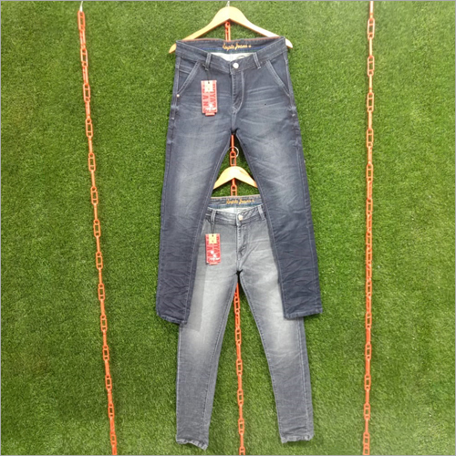 Mens Low Waist Casual Jeans