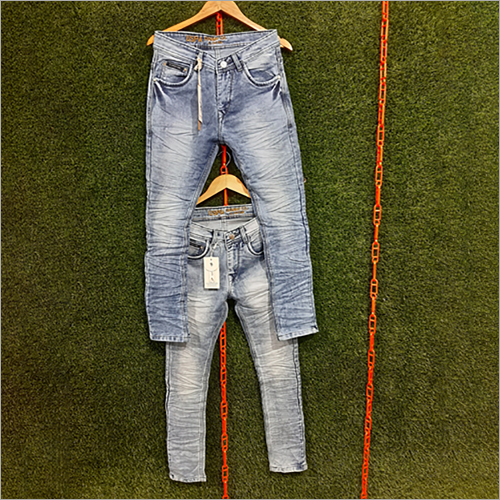 Mens Narrow Casual Jeans