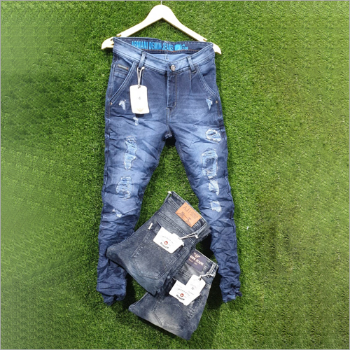Mens Ripped and Damage Jeans