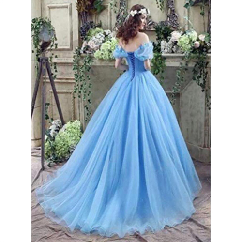 Off Shoulder Princess Ball Gown