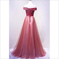 Women Strapless Long Gown