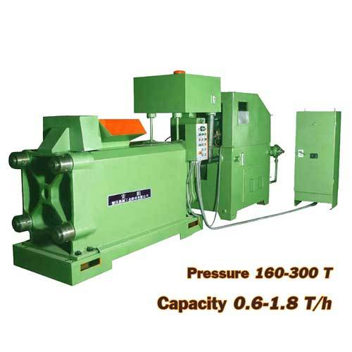 High Quality Cooper Scrap Briquette Machine