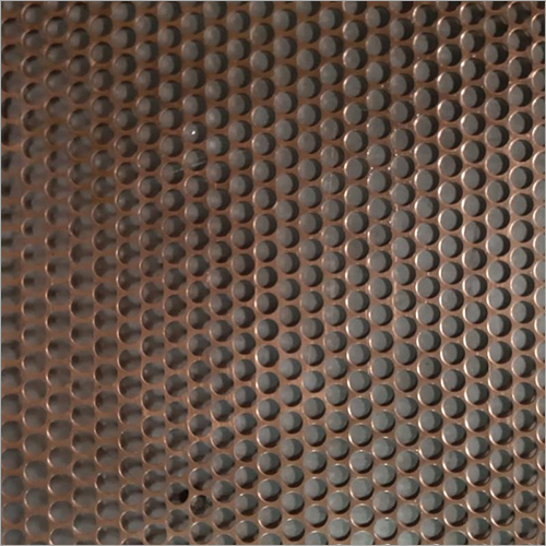 Bronze Perforated Sheet