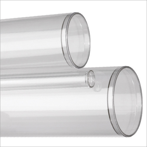 Transparent Plastic Tubes