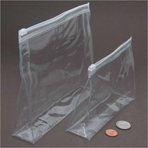 PVC Vinyl Clear Pouch Bag