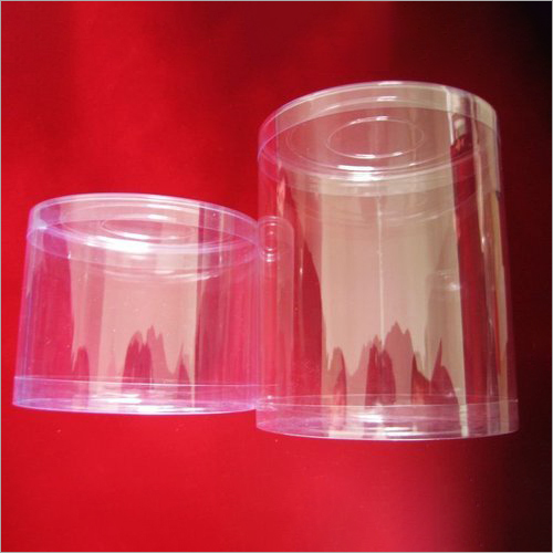 PVC Round Cylinders Box