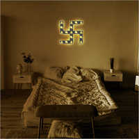 Swastik Frame Lamp