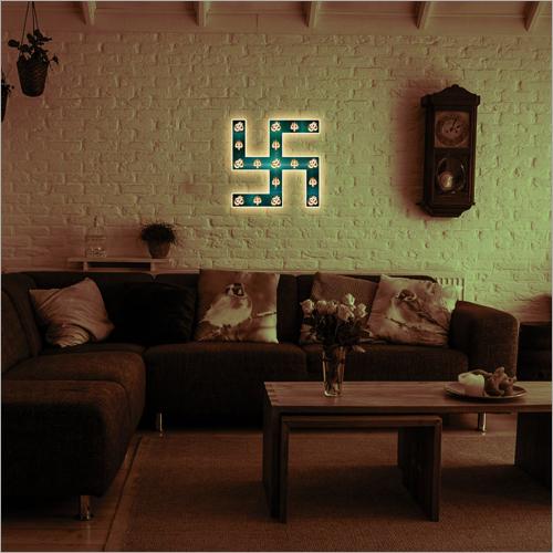 Decorative Swastik Wall Frame Lamp