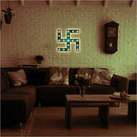 Decorative Swastik Wall Frame Lamp