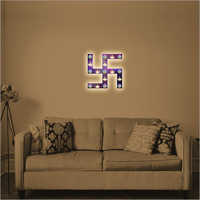 Living Room Decor Swastik Wall Frame Lamp