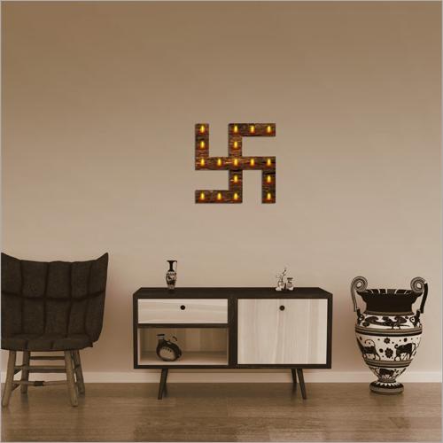 Diwali Swastik Wall Frame Lamp