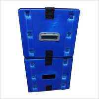 Handle Plastic Corrugated Box