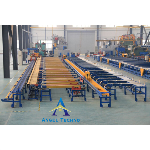 Extruded Profile Handling Table-Cooling Bed