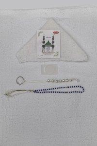 White Cotton Terry Arafat Hajj Towel