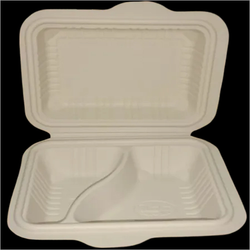 2CP 600ml Cornstarch Clamshell