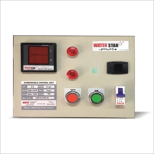 Digital Submersible Control Panel