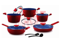Cookware Set - 12 Pcs. Small Groove