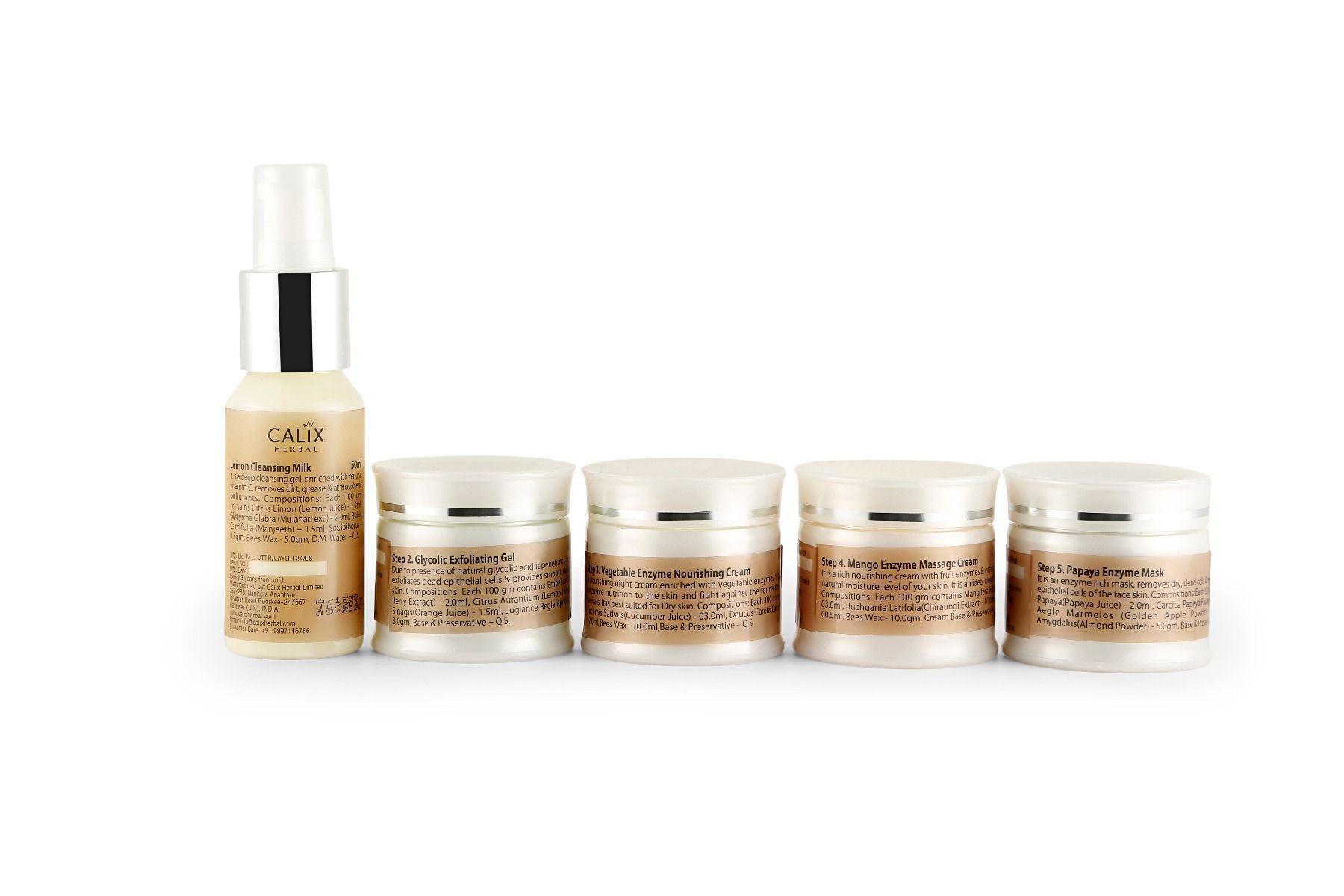 Herbal Enzyme Facial Kit