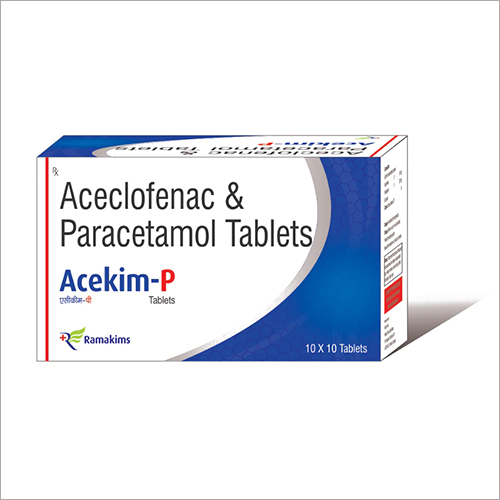 Aceclofenac和Paracetamol片剂
