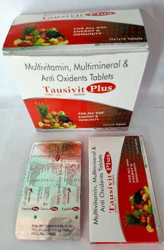 Multivitamins - Multiminirals And Anti-Oxidant Tablets