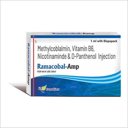 Methylcoblalmin - Vitamin B6 - Nicotinaminde And D-Panthenol Injection