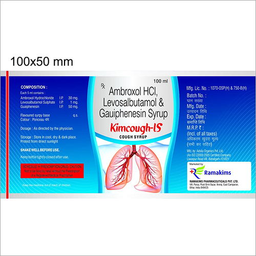 Ambroxol HCI - Levosalbutamol And Gauiphenesin Cough Syrup