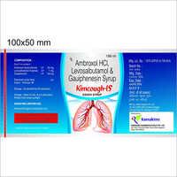 Ambroxol HCI - Levosalbutamol And Gauiphenesin Cough Syrup