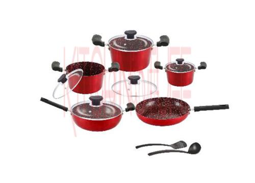 Cookware Set - 12 Pcs. Mira Bella