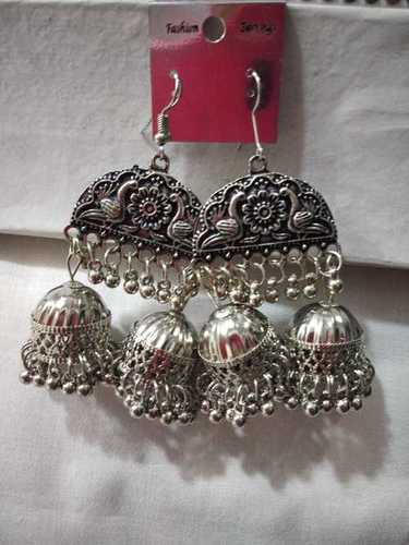 Chand Oxidized Earring
