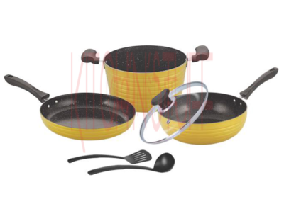 Cookware Set - 6 pcs. Dark Rock