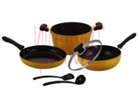 Cookware Set - 6 pcs. Dark Rock