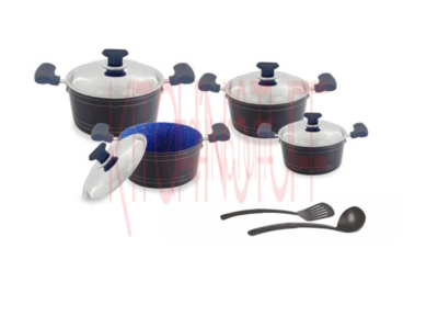 Cookware Set- 10 Pcs. Mira Bella