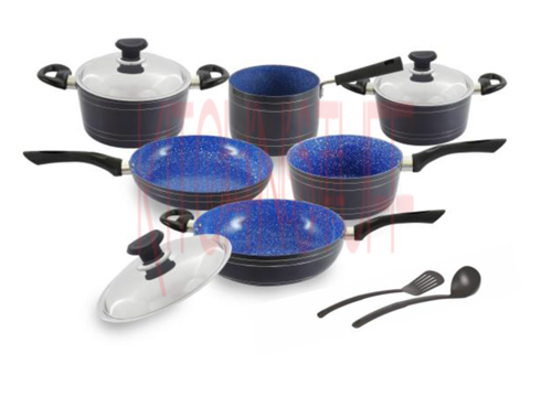 Cookware Set - 11 Pcs. Mira Bella
