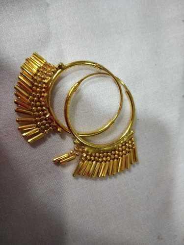 Round jhumki earring