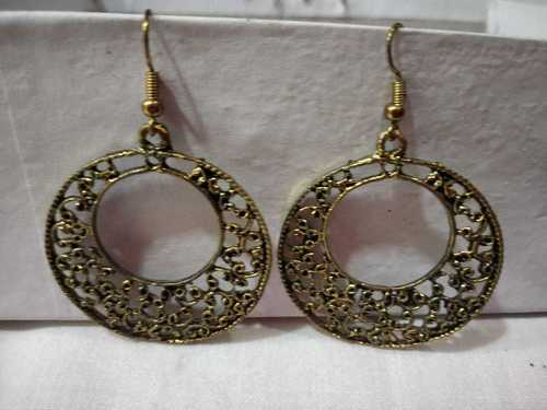 Beautiful  rounded earring