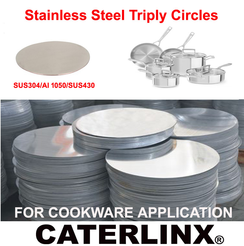 Stainless Steel Triply Circles